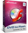 DVD to Flash Converter for Mac