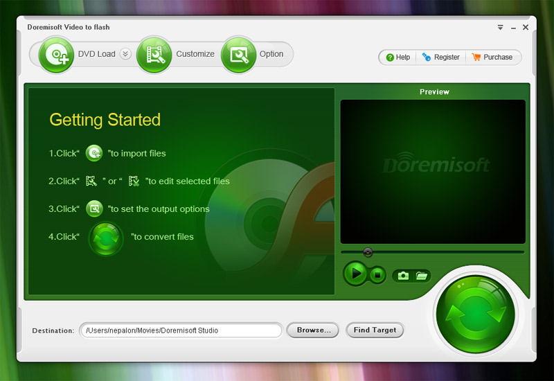 Doremisoft DVD to Flash Converter 1.0.1