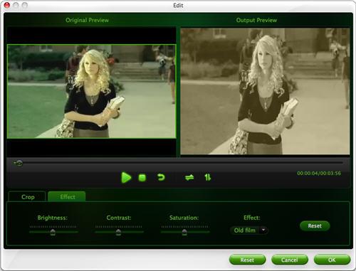 Convert video to Sansa on Mac OSX.