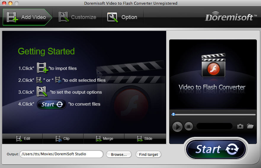 Mac Video to Flash Converter
