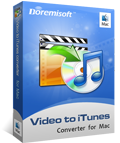 Doremisoft Mac Video to iTunes converter
