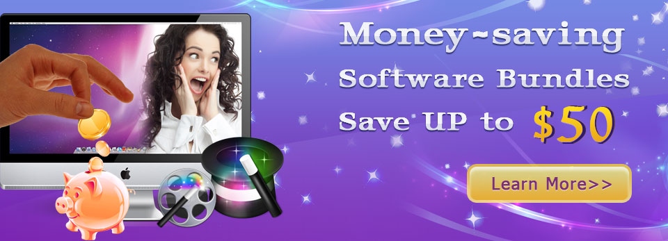 Money-saving software bundles-save up to USD50