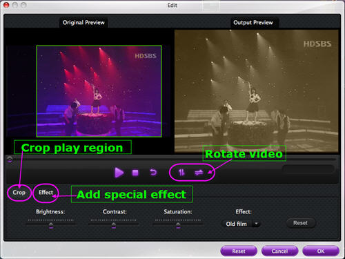 Edit Sony HDR AVCHD on Mac