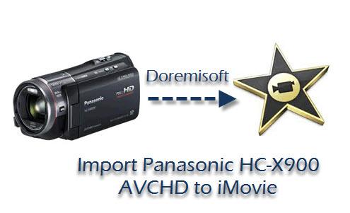 hc x900 to imovie