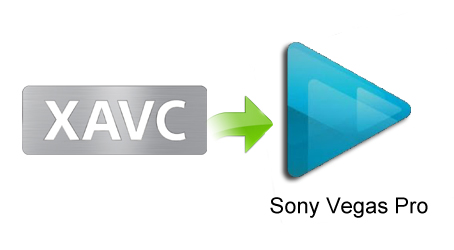 xavc to sony vegas