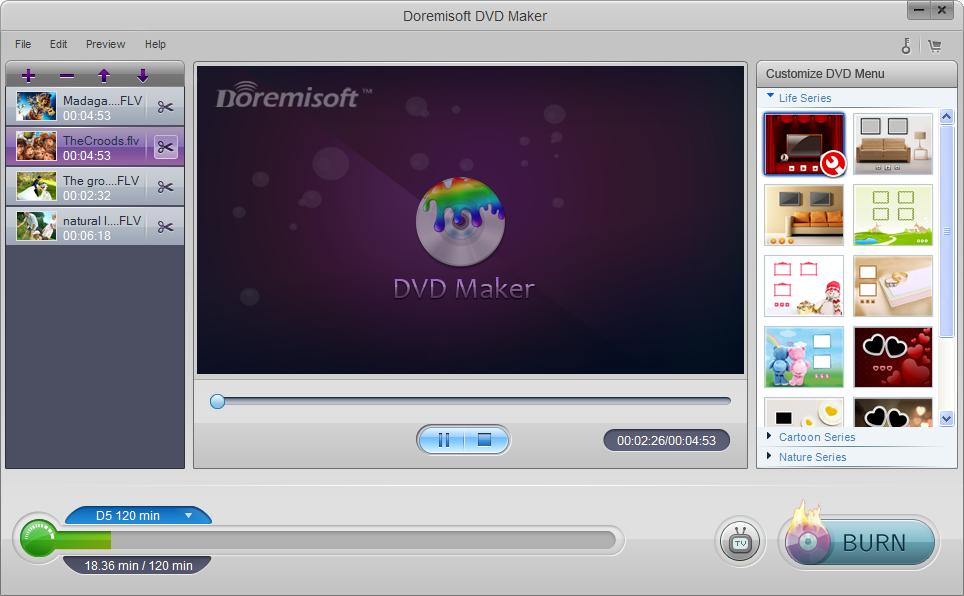 Doremisoft DVD Maker 1.3.2