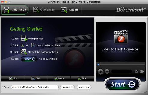 Mac Video to Flash Covnerter