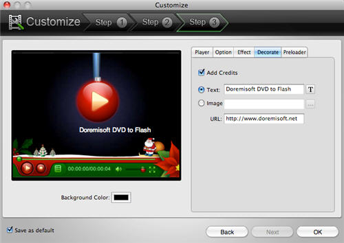 Mac DVD to Flash Covnerter