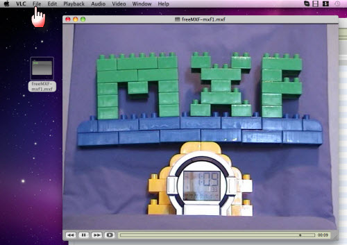 Free MXF player, play MXF files for free on Mac/Windows