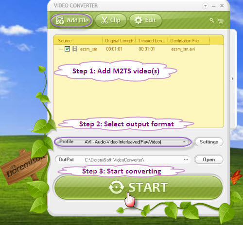 how to change avi to mp4 format