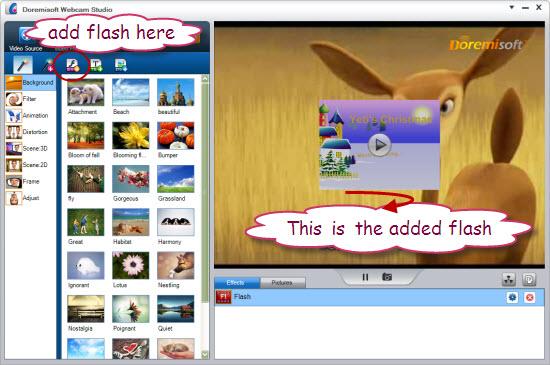 add flash