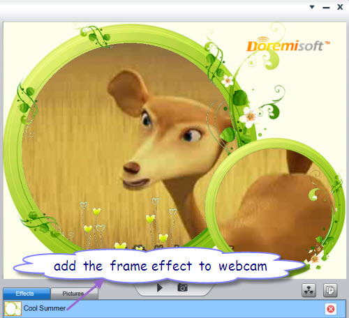 add effect via yahoo message