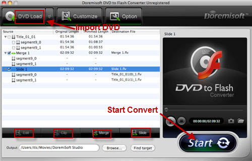 Convert Edit DVD Movies Mac