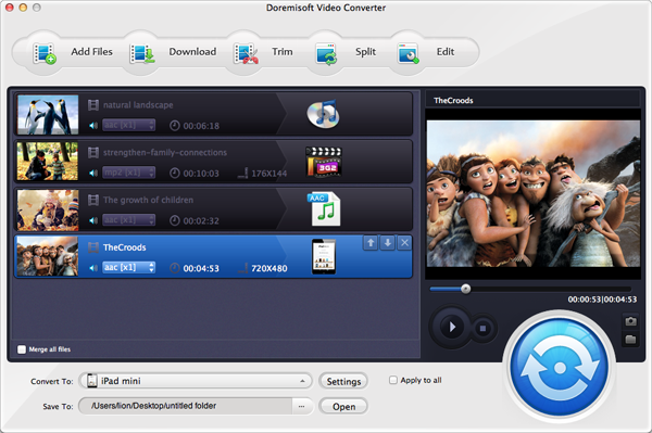 Doremisoft XAVC Video Converter