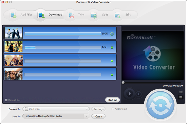 convert flv to iTunes mpeg-4 format for Mac