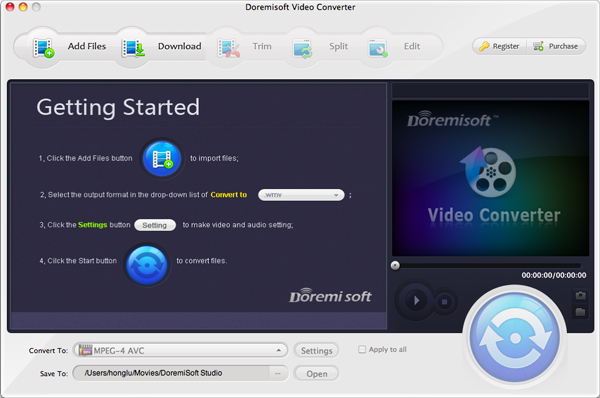 Doremisoft Mac Video Converter 4.3.6