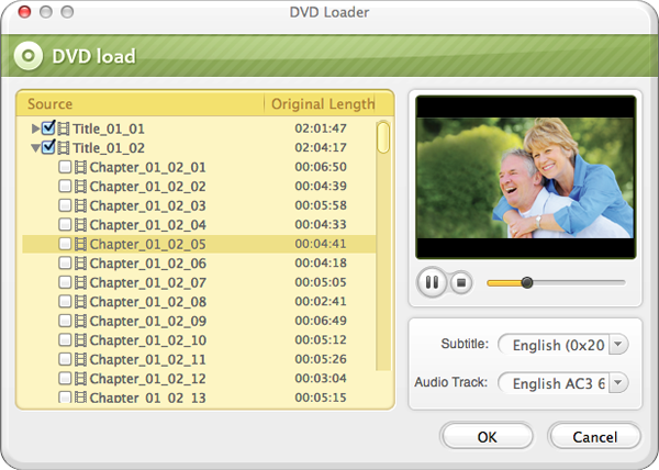 load dvd to converter