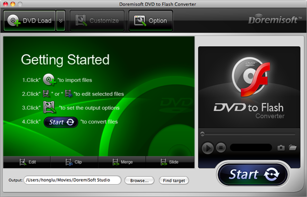 mac dvd to flash converter