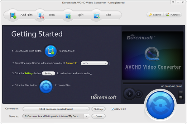 Doremisoft AVCHD Video Converter 4.5.5