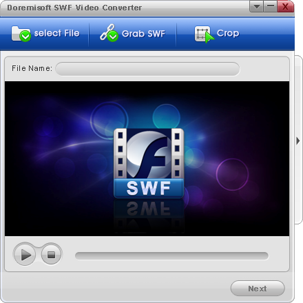 Click to view Doremisoft SWF Video Converter 1.0.0 screenshot