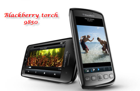 black berry torch 9850
