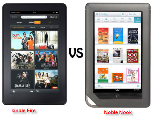 kindle fire pk noble nook