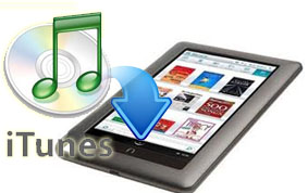 itunes to nook tablet