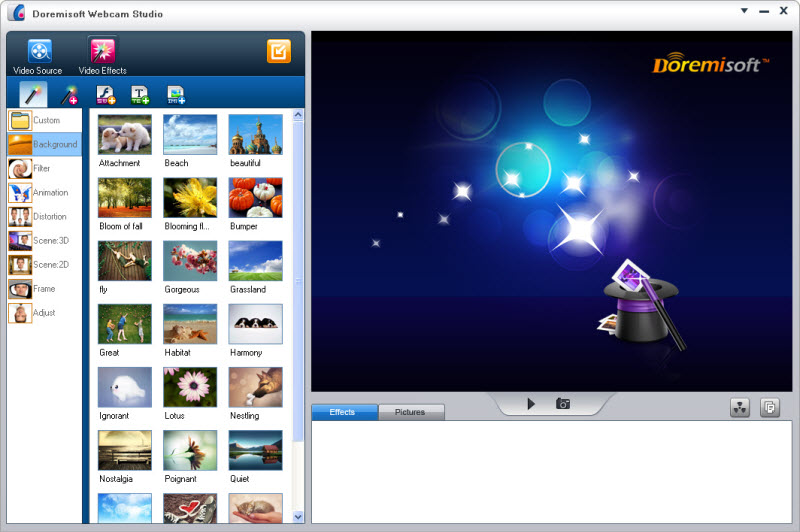 Click to view Doremisoft Webcam Studio 1.0.5 screenshot